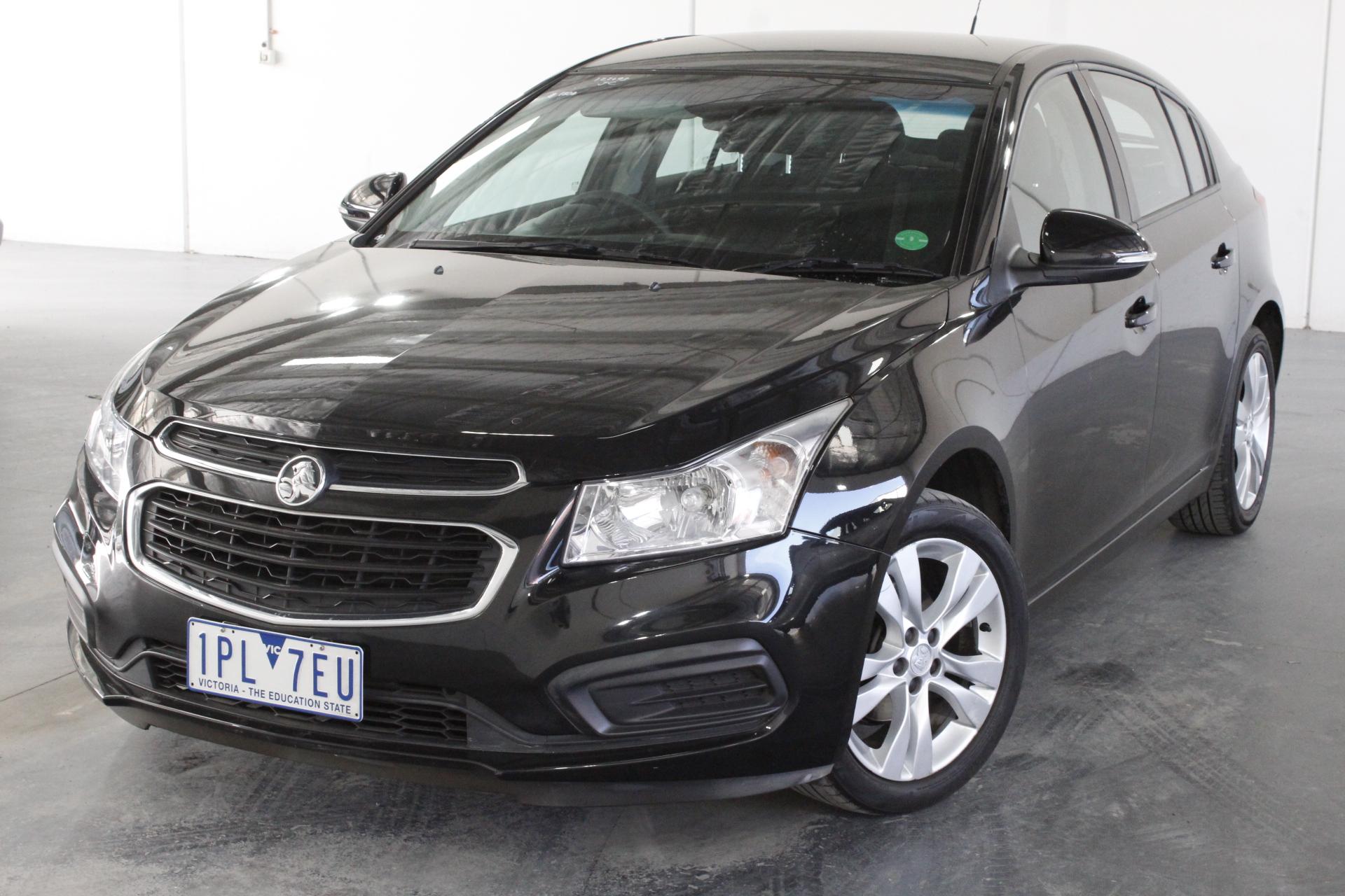2015 Holden Cruze CD JH Automatic Hatchback