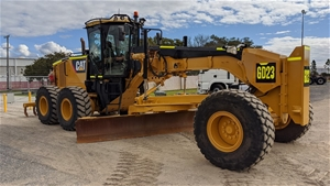 2012 Caterpillar 14M Motor Grader (GD200