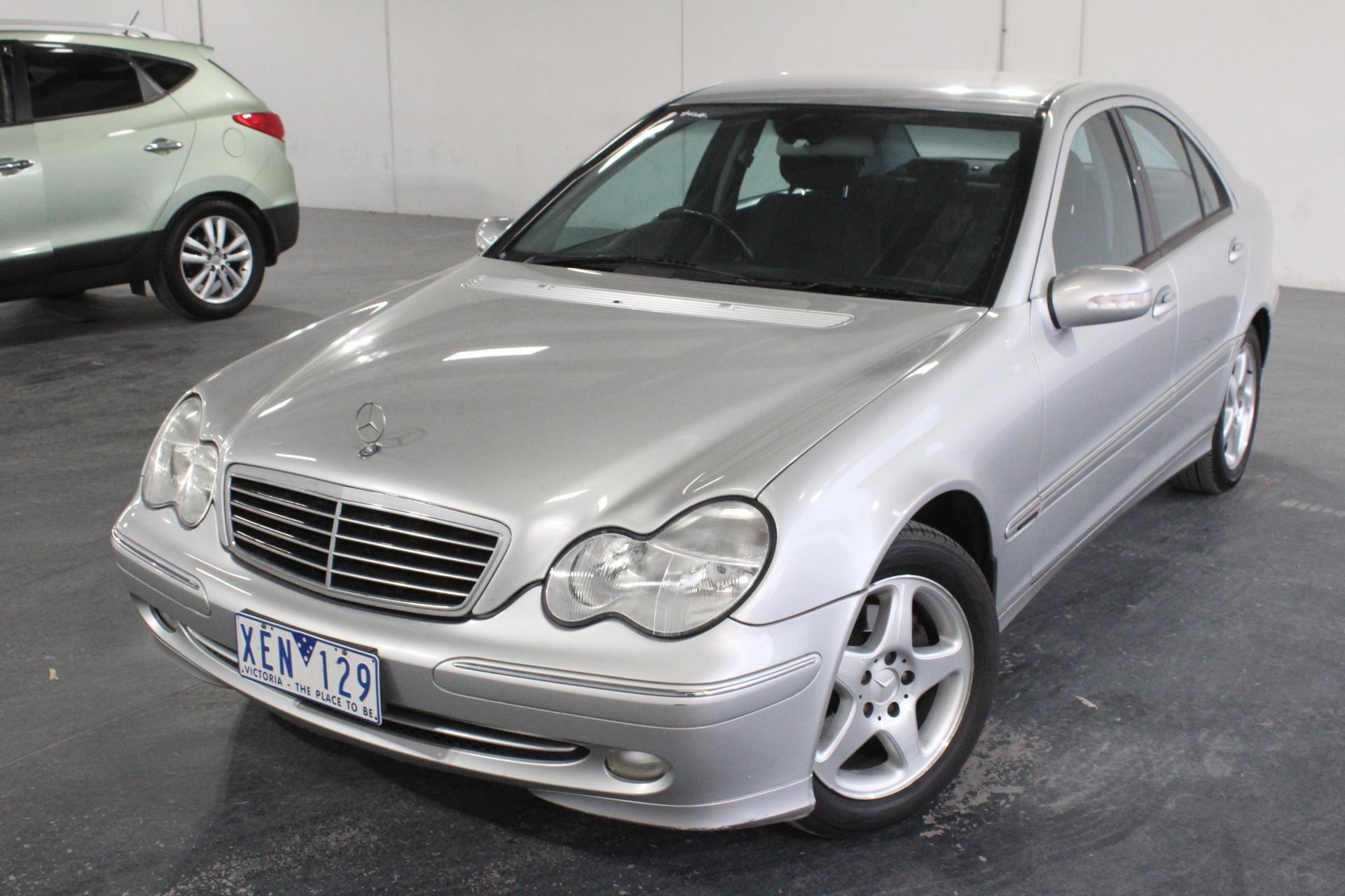 2001 Mercedes Benz C200 Kompressor Avantgarde W203 Automatic Sedan