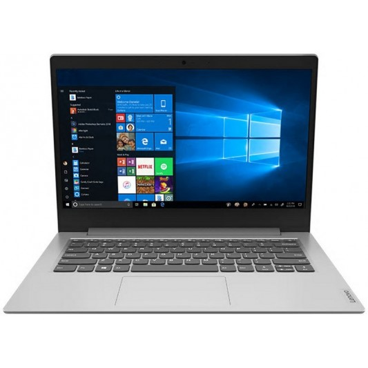 Lenovo IdeaPad 1 14IGL05 14-inch Notebook, Platinum Grey