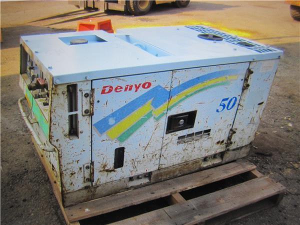 Compressor Denyo, model DP8-50SPB