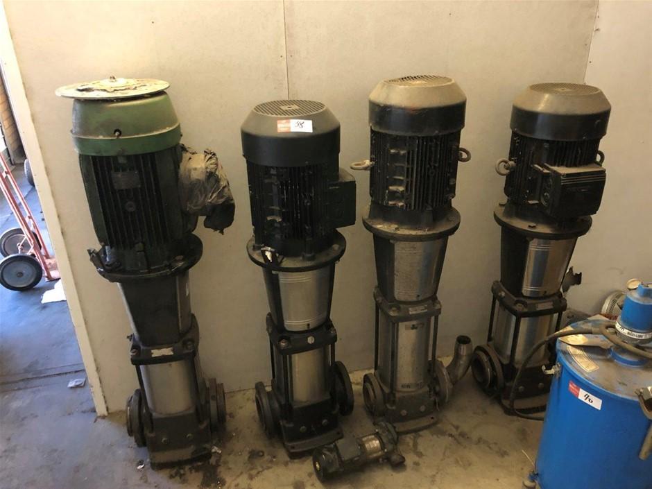 Qty 4 CR32 Pumps
