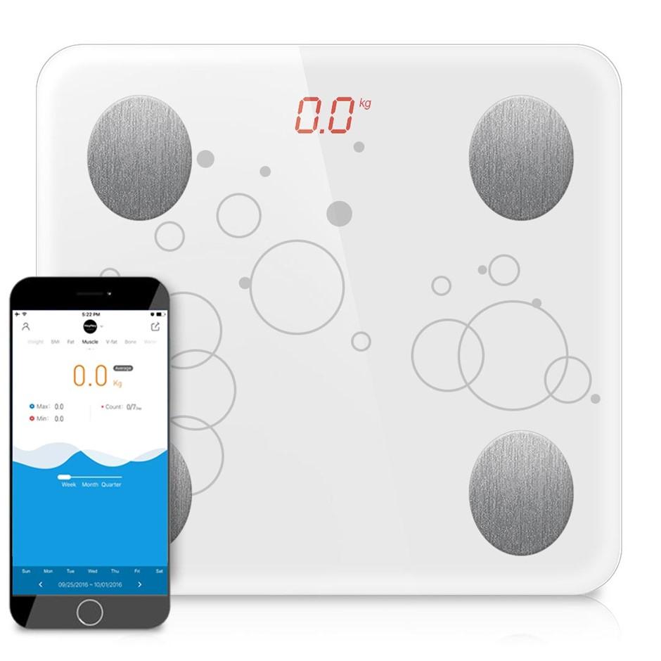 SOGA Wireless tooth Digital Body Fat Scale Bathroom Health Analyser