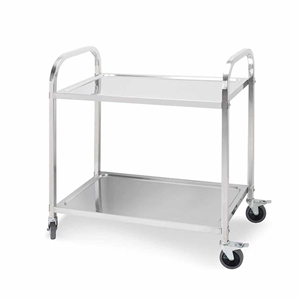 SOGA 2 Terr S/S Kitchen Dining Food Cart