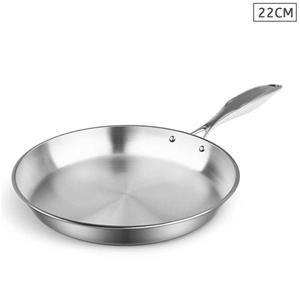 SOGA S/S Fry Pan 22cm Frying Pan Top Gra
