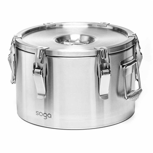 SOGA 304 15L Stainless Steel Insulated F