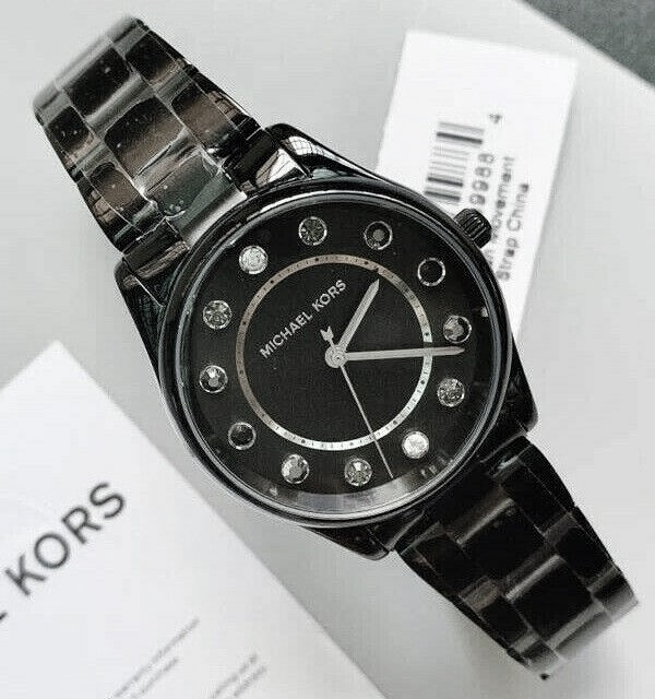 Ladies new Michael Kors Couture NY 'Colette' fabulous modern watch.