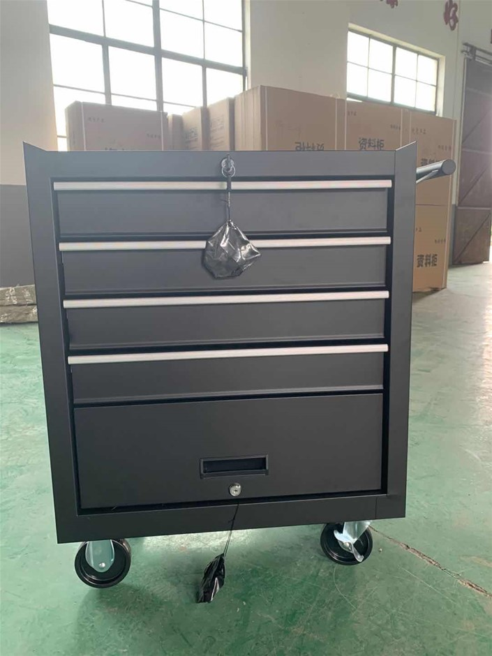 4 Drawers Cabinet with Free Turning Mobile Wheels