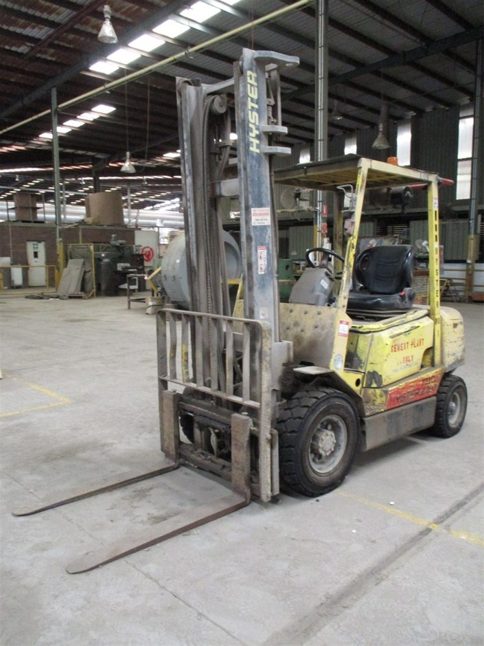 2003 Hyster H25DX 4 Wheel Counterbalance Forklift