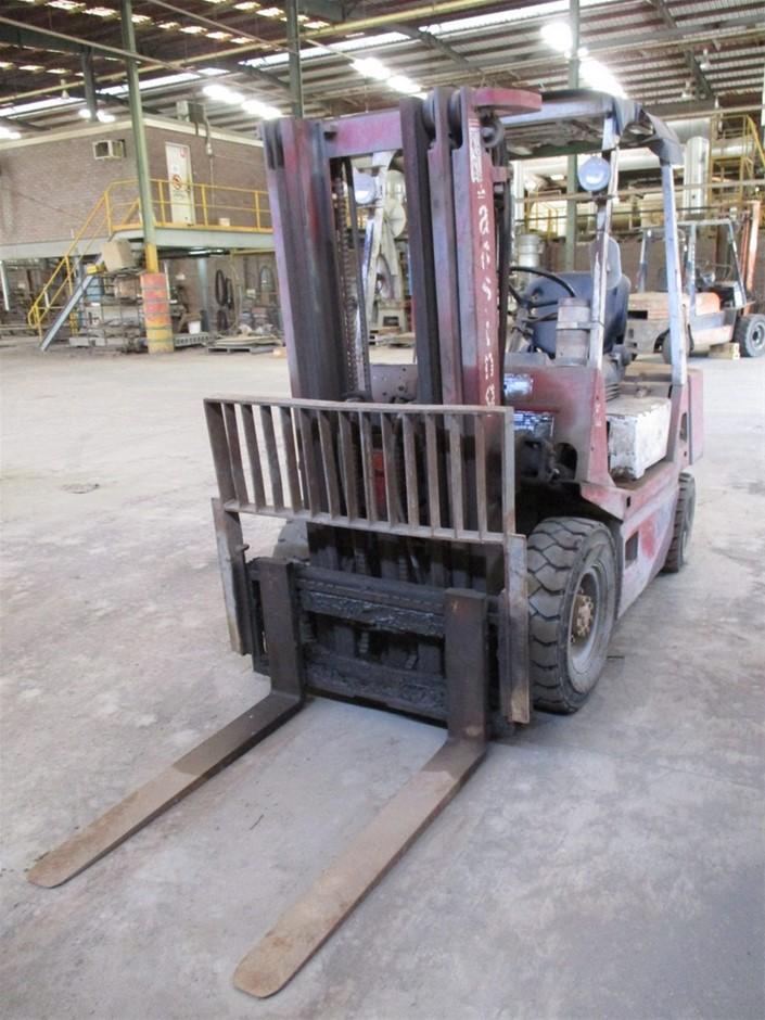 Lansing FD252 4 Wheel Counterbalance Forklift