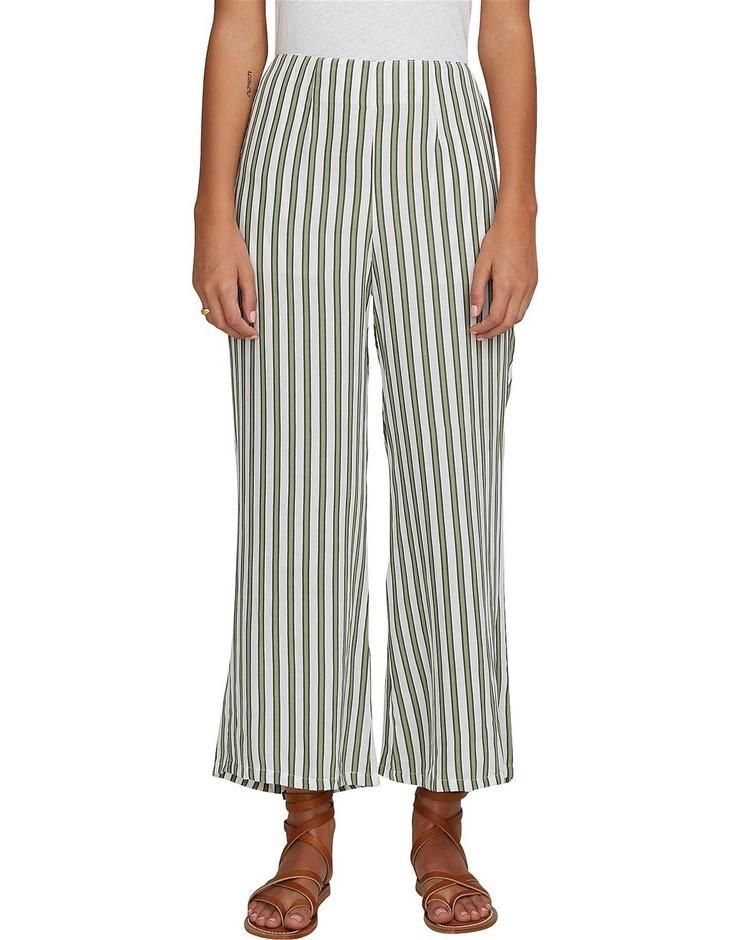 FAITHFULL THE BRAND Tomas Pant. Size L, Colour: Almeria Stripe Print. ORP: