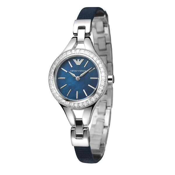 Stunning new Emporio Armani Blue Mother of Pearl watch.