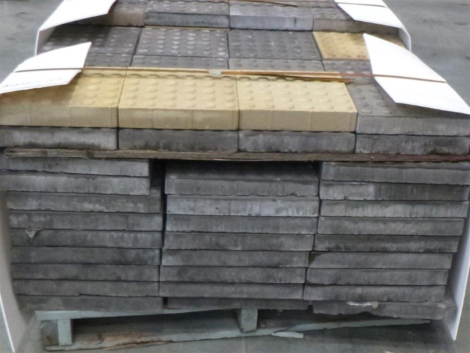 Pallet of Grey Pavers