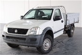 Unreserved 2005 Holden Rodeo LX RA Automatic Cab Chassis