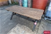 Solid Timber Outdoor Table
