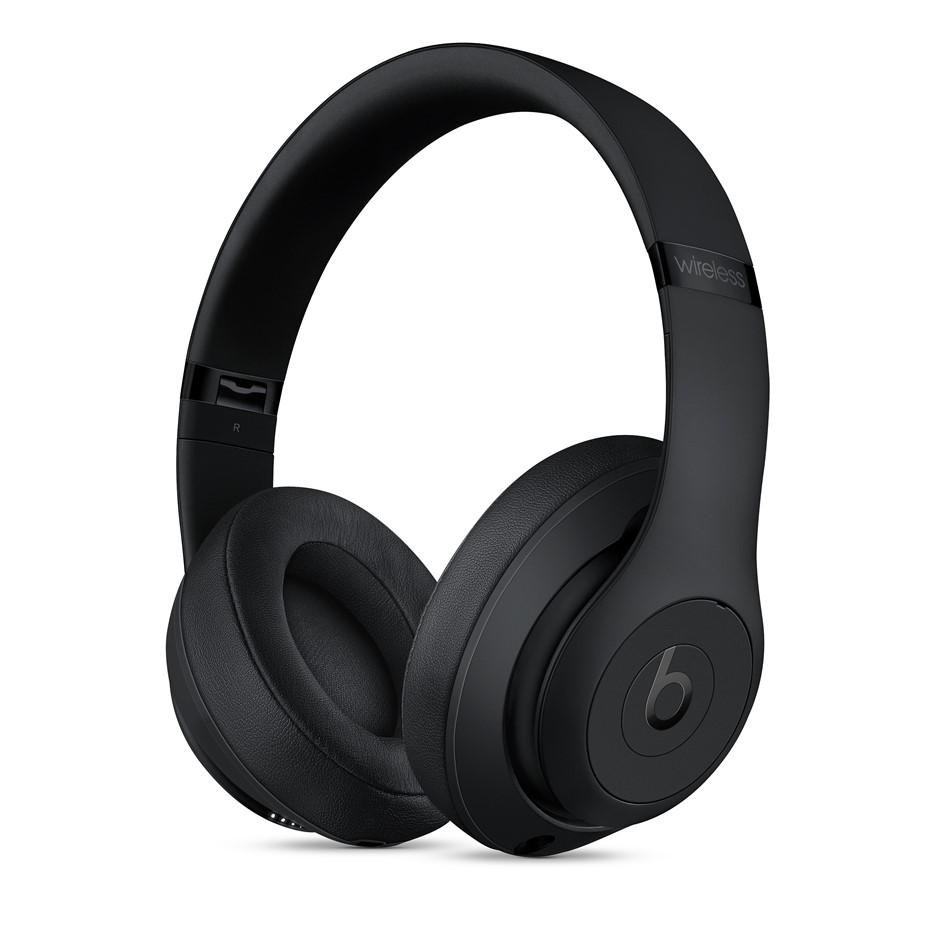 BEATS BY DR DRE Beats Studio 3 Wireless Headphones, Matte Black. Complete w