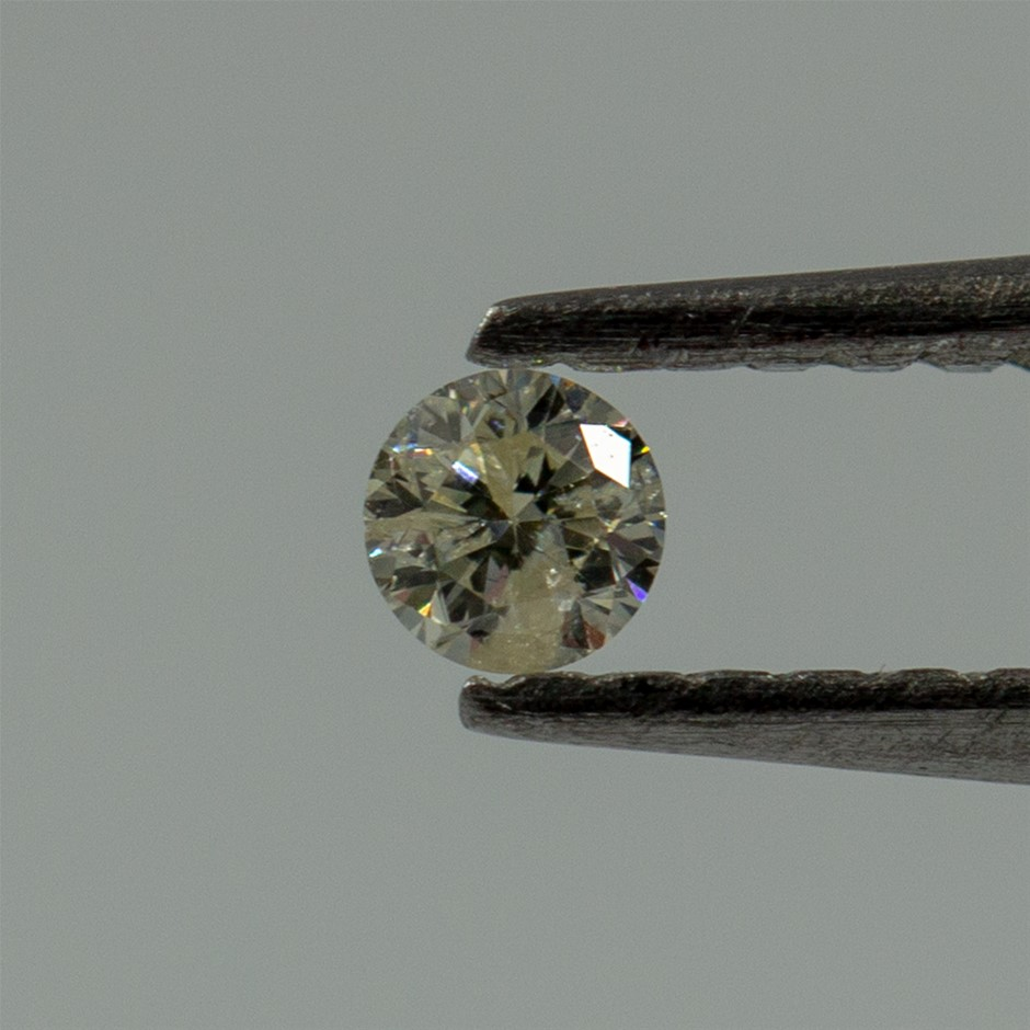 0.03ct Loose Diamond