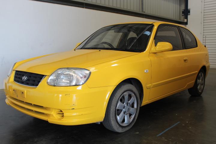2003 Hyundai Accent 1.6 LS Automatic Hatchback