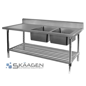 Unused Double Right 2400 x 600 Stainless