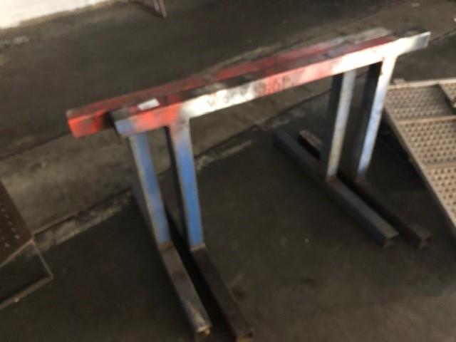 Set of 2 Steel Work Horses