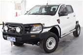 Unreserved 2012 Ford Ranger XL 4X4 PX Turbo Diesel