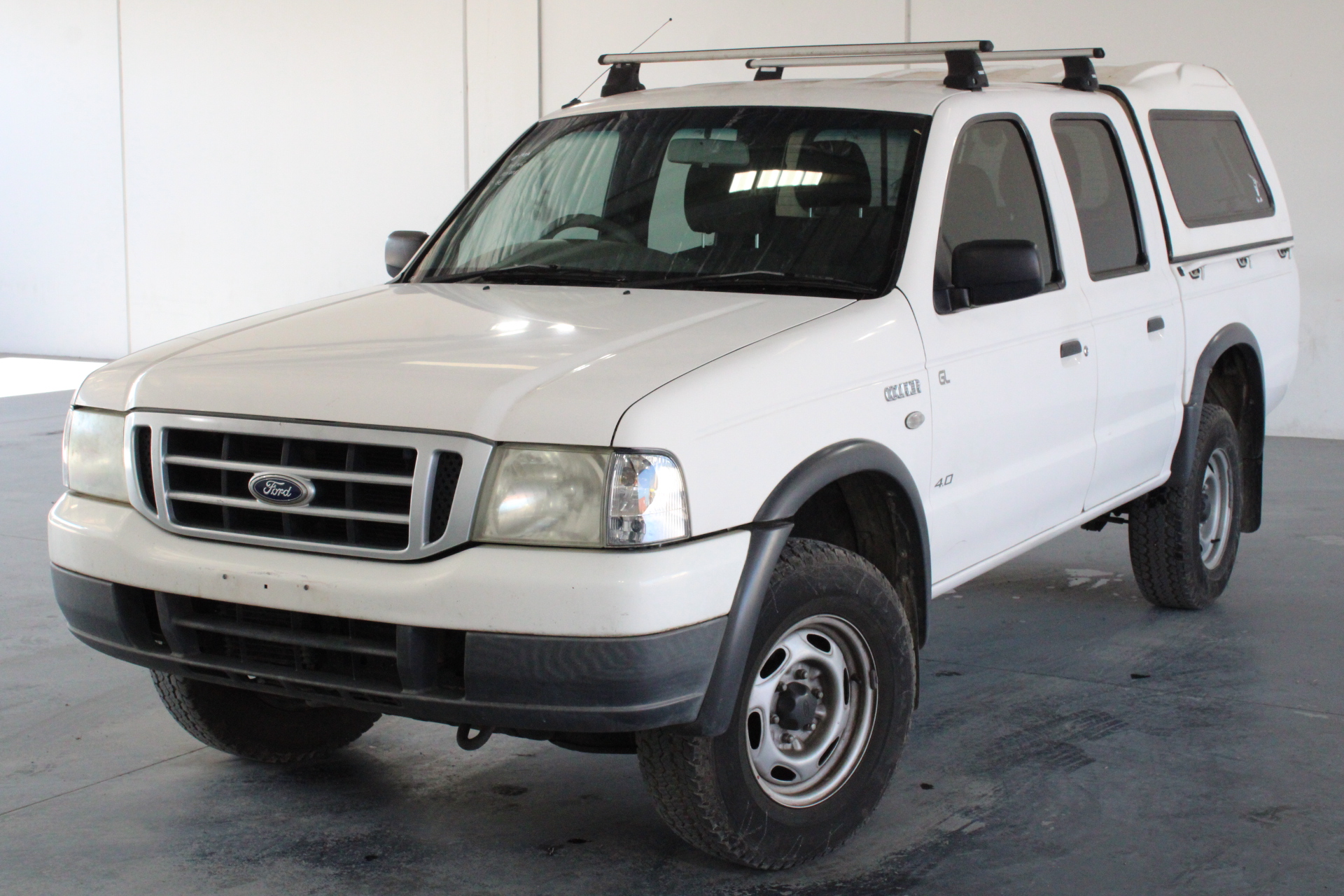 2006 Ford Courier GL PH Automatic Dual Cab