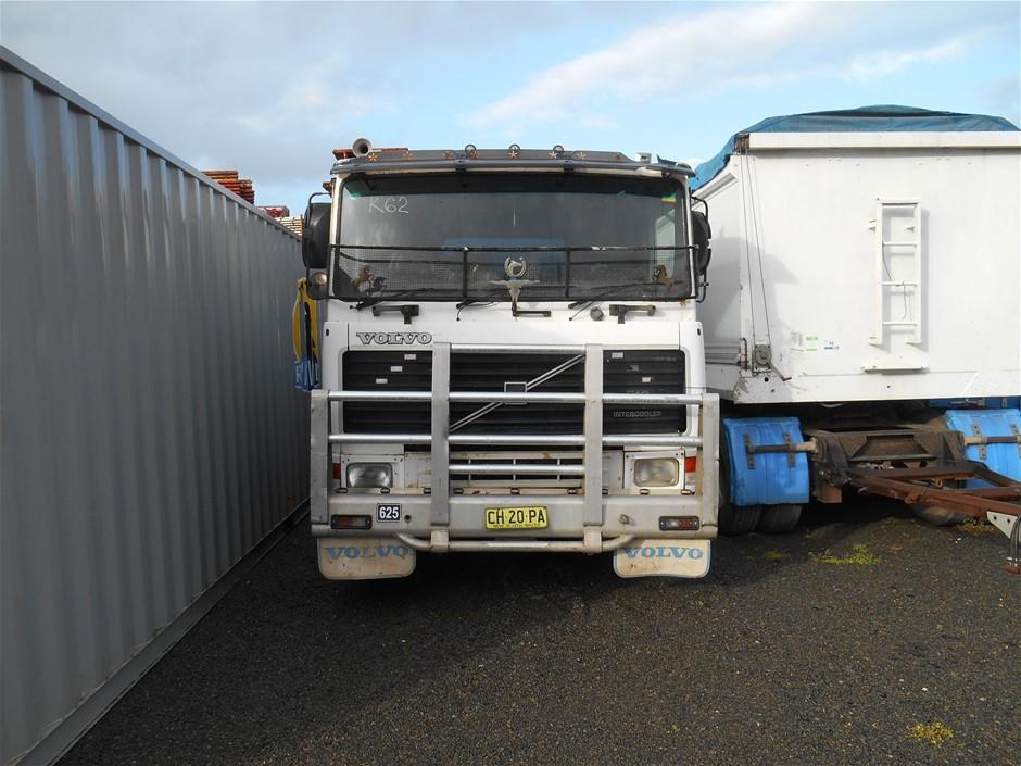 1991 Volvo F16 500 Intercooler 6 x 4 Tipper Truck
