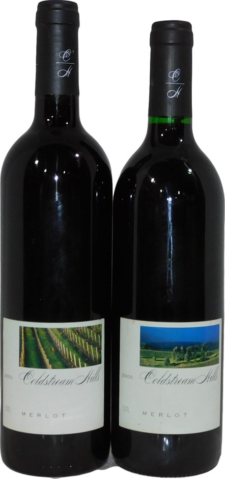 Pack of Assorted Coldstream Hills Merlot (2x 750mL)