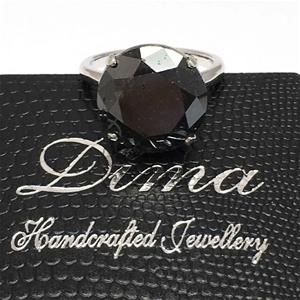 18ct White Gold, 12.77ct Diamond Ring