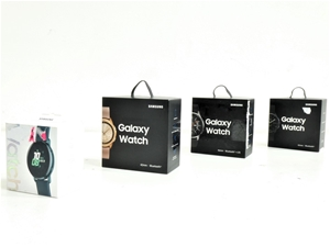 Box Containing 4x ASSORTED USED SAMSUNG