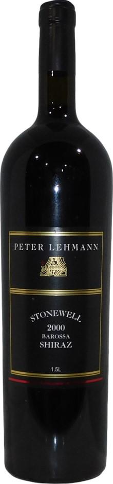 Peter Lehmann Stonewell Barossa Shiraz 2000 (1x 1.5L Magnum), SA. Cork