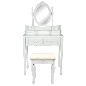 1 Mirror 4 Drawers Dressing Table - ANGE