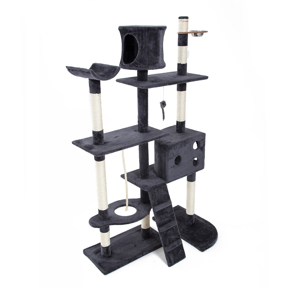 170cm Cat Tree Scratcher DANIE - GREY