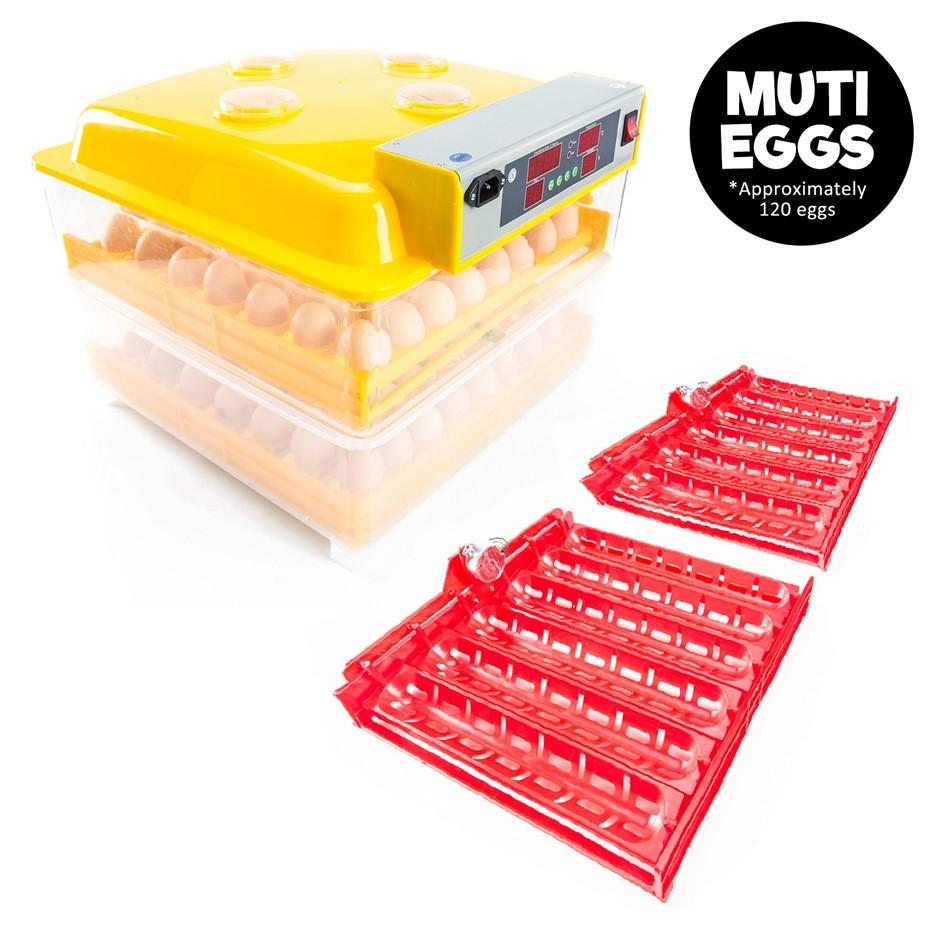 120 Eggs Digital Incubator With Tray
