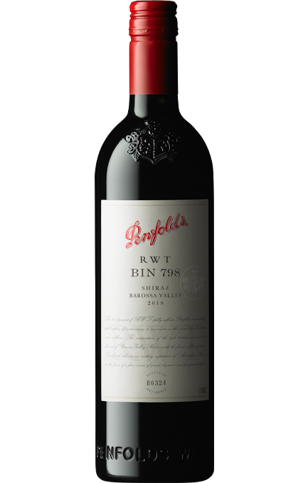 Penfolds Bin 798 RWT Shiraz 2018 (6x 750mL). Barossa Valley