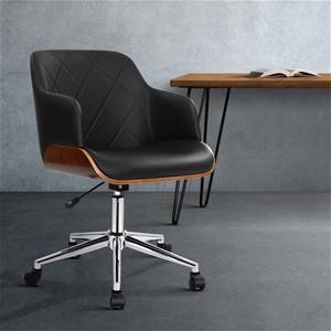 Artiss Wooden Office Chair Computer PU L