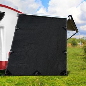 Black Caravan Privacy Screen 1.95 x 2.2M