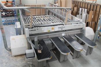 Blum Minipress P Hinge Boring Machine Auction 0039