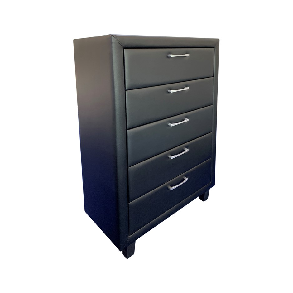 Constructed with Particleboard. Attractive Black Colour for Gorgeous Feel.