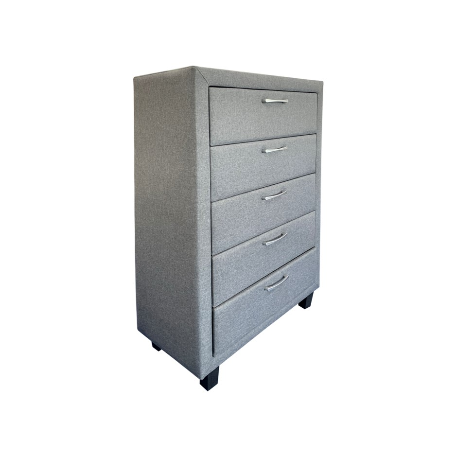 Megan Tallboy is wooden furniture piece with attractive Light Grey