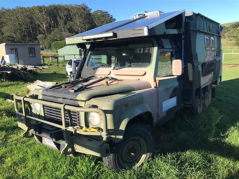 1990 Land Rover PERENTIE 110 6WD Manual Campervan (Ex Army)