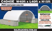 2020 Unused Container Shelters - Perth