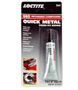 3 x LOCTITE 660 Retaining Compound Quick