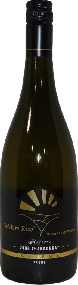 Settlers Rise Reserve Chardonnay 2008 (12x 750mL), Granite Belt. Screwcap