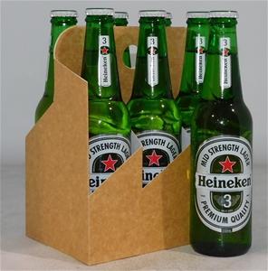 Heineken 3 Mid Strength Lager Bottle (24
