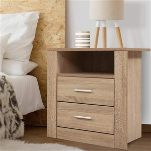 Artiss Bedside Tables Drawers Storage Ca
