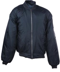 Nylon Flying Jacket, Size 3XL Zip Front