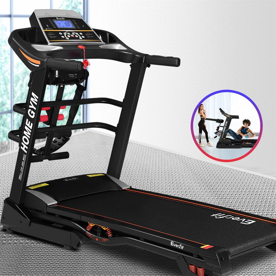 Everfit Electric Treadmill Auto Incline Home Gym Exercise Running Machine