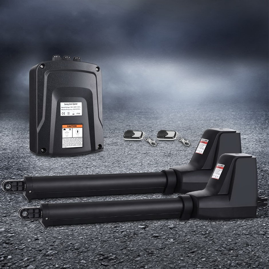 LockMaster Swing Gate Opener Double Automatic Electric Kit 1000KG