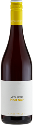 Medhurst Yarra Valley Pinot Noir 2018 (12x 750mL), VIC. Screwcap.